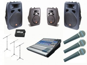 Band Equipment Rental Package